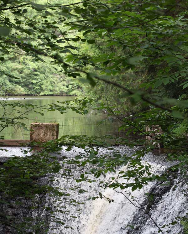 waterfall - la ferme du lac, marval
